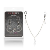 Зажимы на соски Nipple Play NonPiercing Nipple Chain Jewelry  Crystal