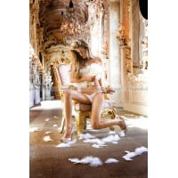 Angel Трусики женские с доступом OS (4246), белые
