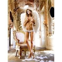 Angel Трусики женские с доступом D (4854), белые