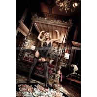 Have Fun Princess Платьице черное кружевное из тюлевой ткани с завязками за шеей