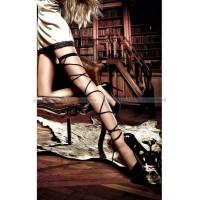 Accessoires Подвязка черная со шнуровкой