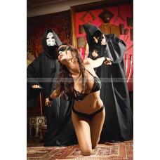 Игровой костюм РАБА ГОСПОДИНА: Бюстгалтер, трусы, маска, наручники