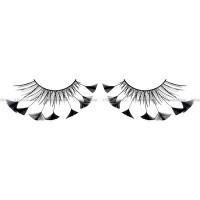 Ресницы чёрные  перья