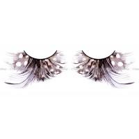 Ресницы коричневыечёрные  перья