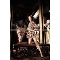 Beauty Inside The Beast кимоно леопардовое