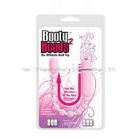 Анальная виброцепочка Booty Beads Pink розовая