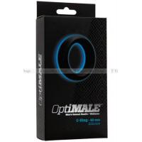 Эрекционное кольцо широкое OPTIMALE CRing Thick (40mm) черное