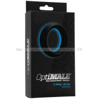 Эрекционное кольцо широкое OPTIMALE CRing Thick (45mm) черное