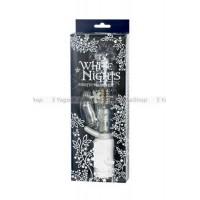 Вибромассажер коллекционный ХайТек  White Nights водонепроницаемый