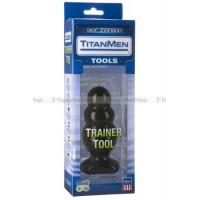 Анальный стимулятор TitanMen Trainer Tool #4 черный