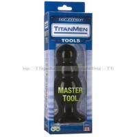 Анальный стимулятор TitanMen Master Tool # 4 черный