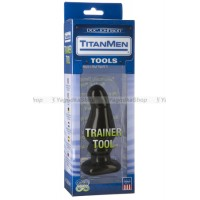 Анальный стимулятор TitanMen Trainer Tool #5 черный