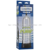 Вакуумная помпа Titanmen Tools  Ultra Pump  Clear прозрачная