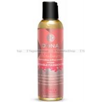 Вкусовое массажное масло  DONA Kissable Massage Oil Vanilla Buttercream 125 мл