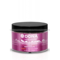 Соль для ванны меняющая цвет воды DONA Bath Salt Sassy Aroma: Tropical Tease 215 г