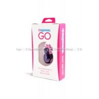 Клиторальный вибростимулятор Sqweel Go Purple фиолетовый