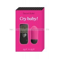 Виброяйцо CRY BABY на радиоуправлении розовое