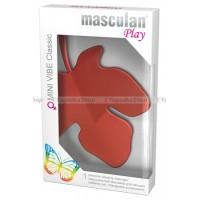 """Индивидуальный массажер для женщин Masculan Play """"MINI VIBE Classic"""" красный"""