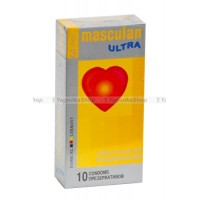 Masculan Ultra 3,  10шт, *10 Long PleasureCD