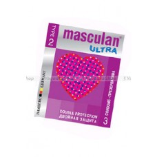 Masculan Ultra 2, 3 шт, *16 Double ProtectionCD