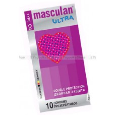 Masculan Ultra 2, 10 шт, *10 Double ProtectionCD