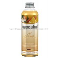 Массажное масло Masculan тонизирующее с цитрусовым ароматом, 200 мл