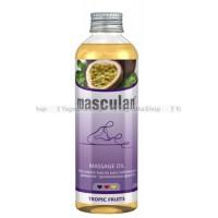 Массажное масло Masculan расслабляющее с ароматом торических фруктов, 200 мл