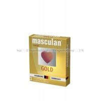 Masculan Ultra 5,  3 шт. * 16 Ультра Золотой (Gold)
