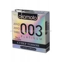 Презервативы Okamoto 003 Platinum № 3
