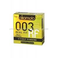Презервативы Okamoto 003 Real Fit № 3
