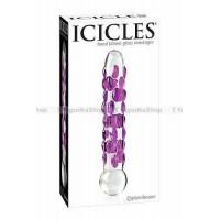 Фаллоимитатор ICICLES № 7 из стекла