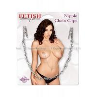 Зажимы на соски с цепью Nipple Chain Clips