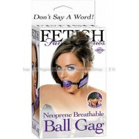 Кляп BREATHABLE BALL GAG сиреневый
