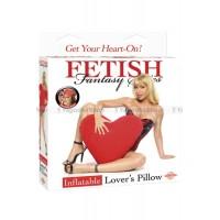 Надувная подушка в форме сердца INFLATABLE LOVER'S PILLOW