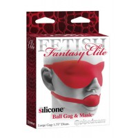 "Fetish Fantasy Elite Кляп Ball Gag & Mask 1,75"" красный"