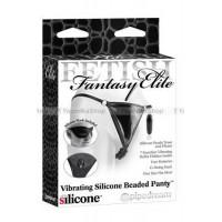 Fetish Fantasy Elite вибростимулятор клитора Beaded Panties с трусиками черный