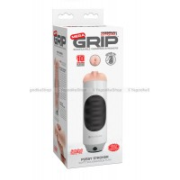 Мастурбатор вагина Pipedream Extreme Toyz Mega Grip Vibrating Stroker Mouth