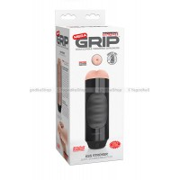 Мастурбатор анус Pipedream Extreme Toyz Mega Grip Vibrating Stroker Mouth