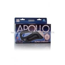 Мастурбаторанус Apollo™ Alpha Stroker™ Alpha Stroker™ 1 с вибрацией серый