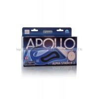 Мастурбаторвагина Apollo™ Alpha Stroker™ Alpha Stroker™ 2 с вибрацией голубой
