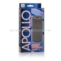 Мастурбатор Apollo Reversible Premium Masturbator Twist двусторонний серый