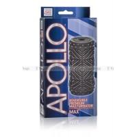 Мастурбатор Apollo Reversible Premium Masturbator Max двусторонний серый