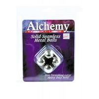 Анальные шарики Alchemy Metallics  Solid Seamless Metal Balls