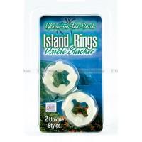 Комплект из 2х эрекционных колец Island Rings  Double Stackers