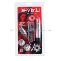 Эротический набор Lovers Crystal Collection Kit прозрачный