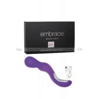 Вибромассажер EMBRACE LOVER'S WAND перезаряжаемый фиолетовый