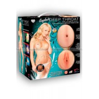 Кукла надувная Kayden's Deep Throat Inflatable Doll with CyberSkin® Pussy and Ass со вставками телес