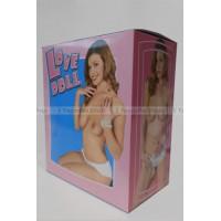 Кукла Generic Love Doll с вибрацией телесная