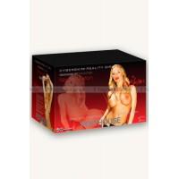 Кукла цельнолитая Penthouse® Nicole Aniston телесная с вибрацией