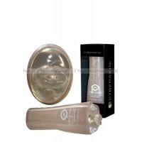 Мастурбатор ротик CyberSkin® Release™ Deep Throat Stroker в тубе прозрачный с вибрацией